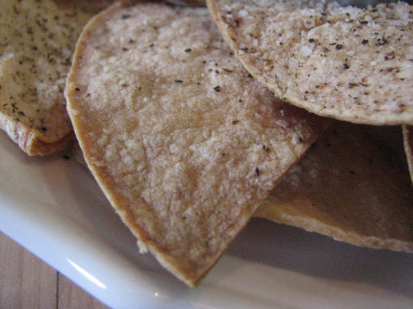 Handmade Corn Tortilla Chips