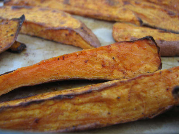 Spiced Yam Steak Fries