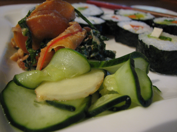 Japanese Ginger and Cucumber Salad