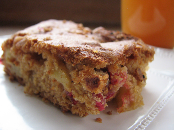Apple Cranberry Bar