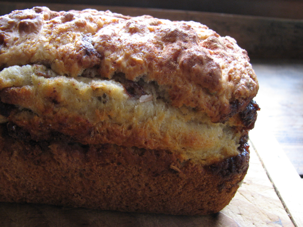 Pumpkin Spice Chip Bread
