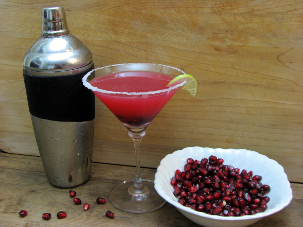 Cocktail Shaker Pomegranate Margarita Seeds