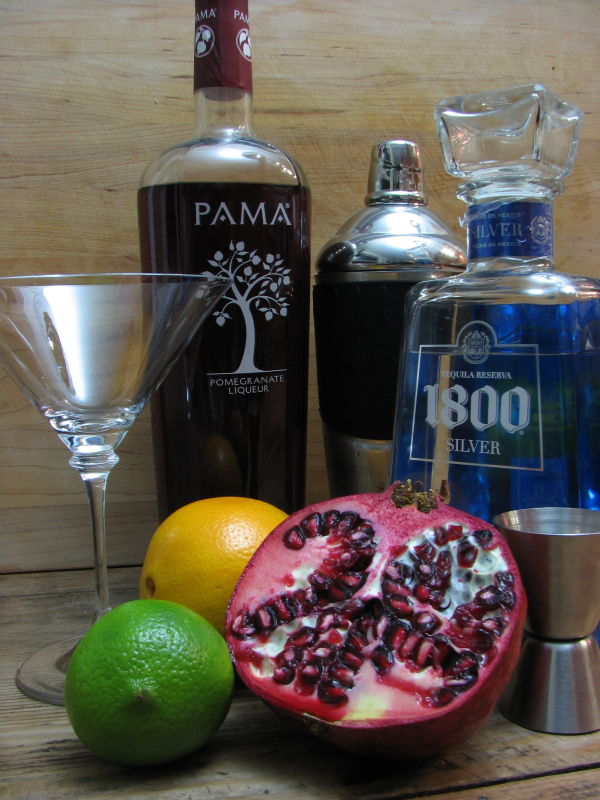 Pomegranate Margarita Ingredients
