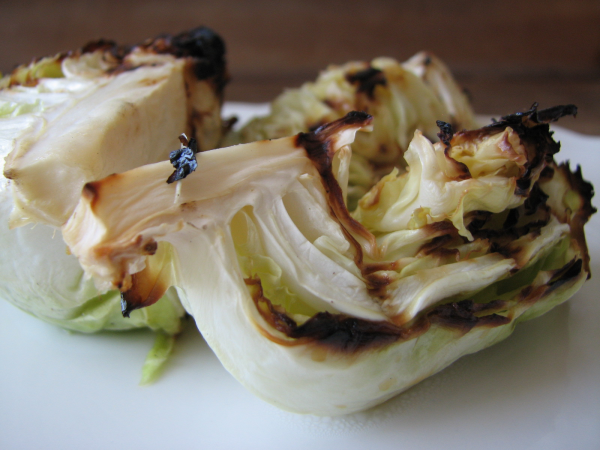Grilled Spring Cabbage